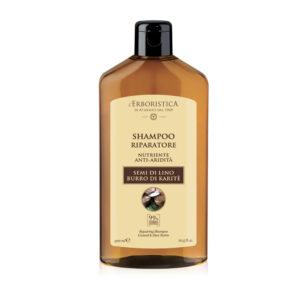 Haarshampoo mit Leinsamen & Shea-Butter